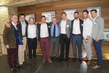 Levon Balayan, Jack Connolly, Richard Hile, Ross Griffiths, Dr Johns, Sam Bishop, Nicholas Dallow, Ben Jones and David Mumford